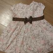 Нарядное платье на 18 месяцев