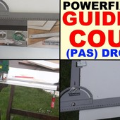 Powerfix profi Направляющая для точного среза с циркулярными плитами и лобзиком (0-77см) стальной