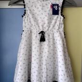 Красиво, лёгкое платье на 5-6 лет