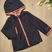 Тонкая куртка для девочки 1,5-2года(ориентироваться на замеры).Osh Kosh.Очень хорошее состояние.