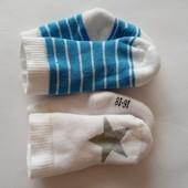 Лот 2 пары!!!! Качественные махровые носочки от тсм Tchibo Германия, размер 16-18