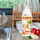 Концентрированное средство для мытья посуды с ароматом яблок-Объём: 500 мл.