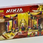 Конструктор Bela Ninja 10935 Бой в тронном зале 251 дет. 5 фигурок в наборе, много лотов. УП 20 грн
