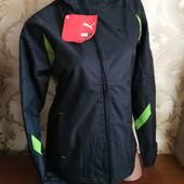 Женская фирменная деми куртка на флисе Puma. М (44-46)