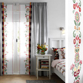Шикарные плотные шторы полностью готовые Ikea Швеция