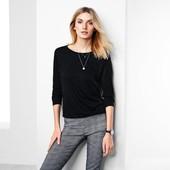 ☘ Трикотажная текстурированная джерси кофта-блуза,Tchibo(Германия), размеры наши: 50/54 (44/46 евро)