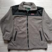 Фирменная новая флисовая кофта-куртка р. 8-10лет