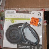 поводок рулетка для собак 5м до 12кг Zoofari из Германии.