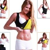 Фирменная майка для похудения с эффектом сауны рр XXL