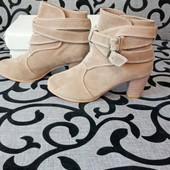 Замшевые ботиночки!!!! ❤❤Очень красивые