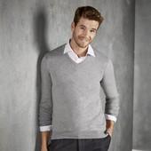 Стильный мужской пуловер тонкая вязка Livergy Германия размер L (52/54)