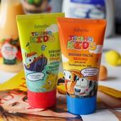 Безопасные! Детские зубные пасты «Яблоко» 3+ «Груша» 6+ (faberlic)/ укрпочта-10%