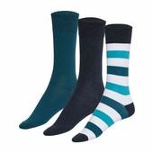 3 пары, мужских носков, Livergy Германия, размер 43-46.