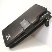 Мужской кошелек Wallerry business (черный)