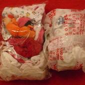 Новорожденному пакеты, + европеленки на 2-4 мес
