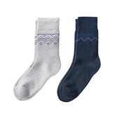 ☘Лот 1 пара☘ Мягусенькие теплые носочки из полиакрила от Tchibo(Германия), размеры: 39-42, серые
