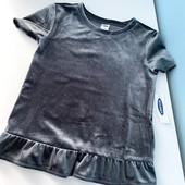 Новая нарядная кофта футболка в блестки oldnavy