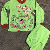 Пижама для девочки 3-5 лет
