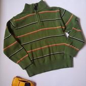 свитерок E-Land с верхней молнией 5-6лет, смотрите замеры