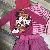 Пакет одягу на дівчинку 9-12, 12-18 місяців