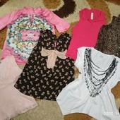 Пакет одежды: 6 летних блузок без рукавов, л-хл