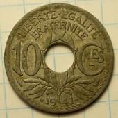 10 сантимов 1941 год Франция