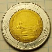 500 лир 1986 год Италия