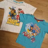 Две футболки одним лотом.4-5 лет.