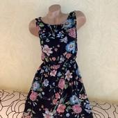Шикарное воздушное, легкое шифоновое платье Boohoo, сток люкс!