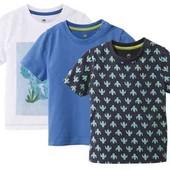 Набор из трёх футболочек Lupilu на мальчика 86/98 см!