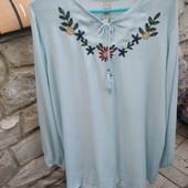 Блуза-вышиванка, 52 р. (Турция). Нюанс!