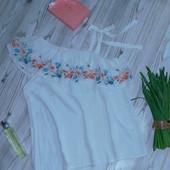 Шикарная блузка с вышивкой р-р Л/ХЛ
