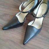 Туфли женские чёрные, размер 39