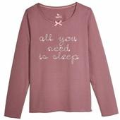 Пижамный лонгслив/футболка на девочку lupilu размер 110/116.