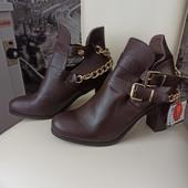 Сток модные ботинки Деми piaza italia