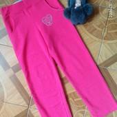 Спортивные штанишки для девочки 8 лет, рост 128 см, новые, но без бирки, Турция.