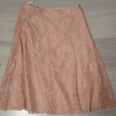 Фирменная красивая ажурная юбка в отличном состоянии р. 14.