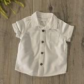 Рубашка на мальчика 3-6 месяцев. В отличном состоянии.