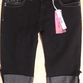 Джинсовые шорты бриджи новые