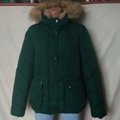 Внимание! Сегодня лоты с дорогими брендовыми куртками! Зимняя куртка на толстом синтапоне+мех,xl/2xl