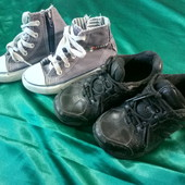 кроссовки NewBallance и хлопковые кеды на молнии