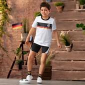Лот 1 шт Футбольные носочки из органического хлопка, Tchibo (Германия),размеры: 31-35