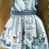 Очень красивое платье 5-7 лет