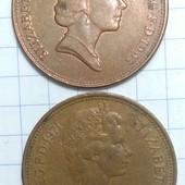 Монета Великобритании 2 шт одним лотом !!!