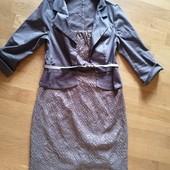 Ділова, офісна сукня в хорошому стані, розмір 48. (м) є заміри