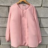 Шифоновая блузочка пудрового цвета