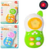 Яркий детский телефон, 13 см, музыка, свет.