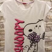 Penuts футболка на 134-140 см