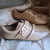 Женские кожаные стильные кроссовки Guess. Размер на выбор.