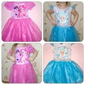 Красивые платья с любимыми героями, для любимых принцесс!!!